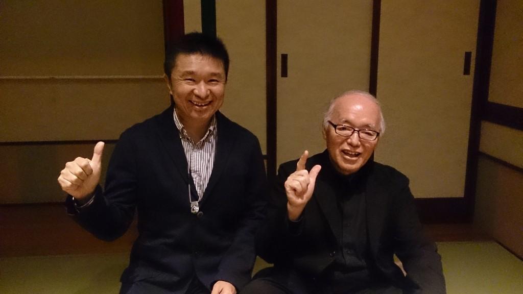 中村勉先生と一緒
