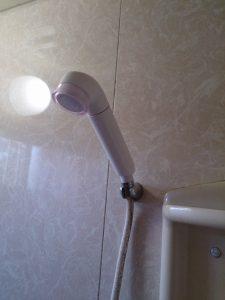 浄水機能付きシャワーヘッド